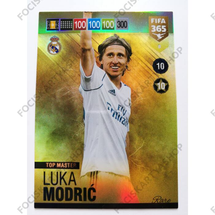 Luka Modrić Image 5: 8 Luka Modrić RARE: Top Master (Real Madid CF)