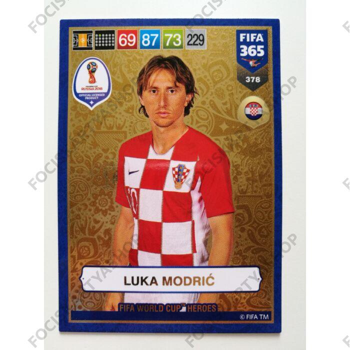 Luka Modrić Image 5: 378 Luka Modrić GOLD: FIFA World Cup Heroes (Croatia